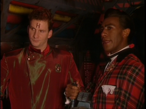 Rimmer and Cat