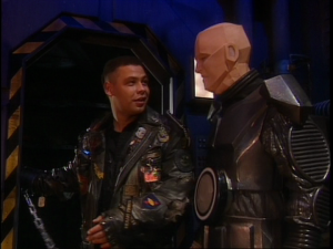 Lister and Kryten