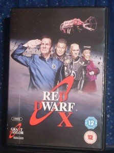 Red Dwarf X Cover 1