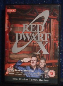 Red Dwarf X Cover 2