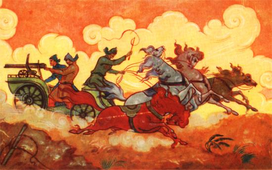 Картинки по запросу картины художников о будёновской тачанке