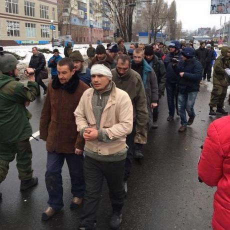 Ukrainska krigsfångar i Ukraina