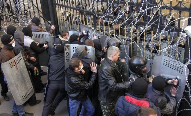 separatister i Donbass