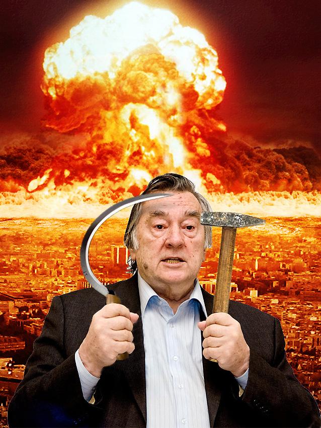 Проханов: «Мы сейчас находимся накануне огромной войны» (коллаж Р. Краснова)