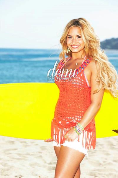 Demi lovato self magazine photoshoot