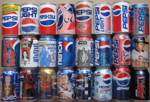 Банки пепси по годам собери баллы кока кола