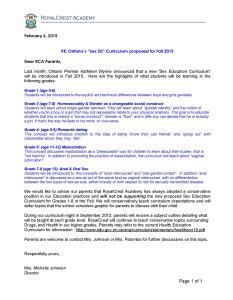 Sex Ed Curriculum letter to parents-1