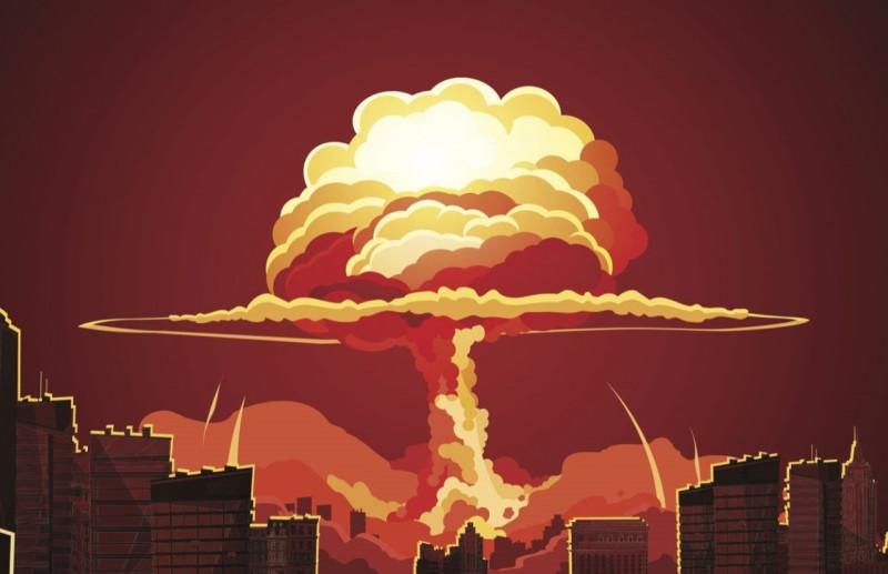 Ядерное пожарище в Хиросиме