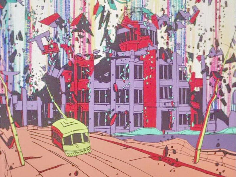 Момент взрыва в Хиросиме