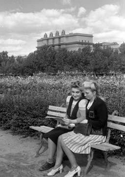 В сквере-на-ул- Красноармейской-1948- г