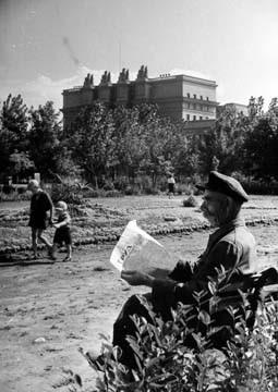 В сквере-на-ул- Красноармейской-1947- г