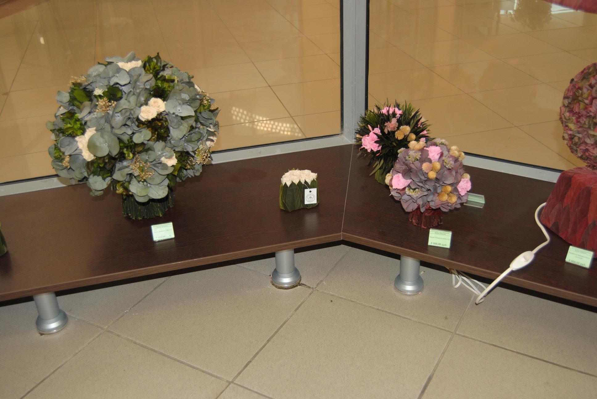 Цветы напольные для украшения
