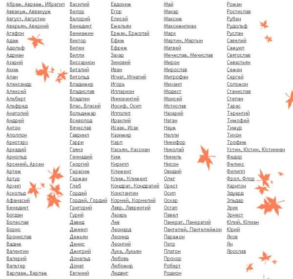 виды форм грузинские имена женские список Курская область