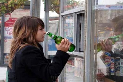 Подростки и пиво11