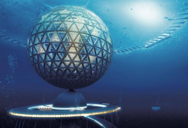 Подводный город1
