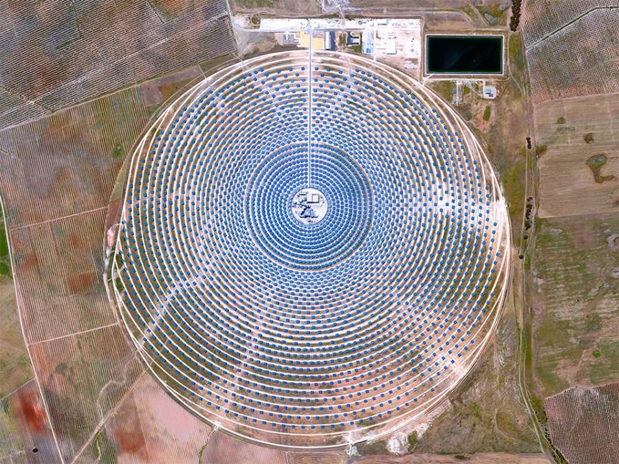 Солнечная электростанция Gemasolar в Испании