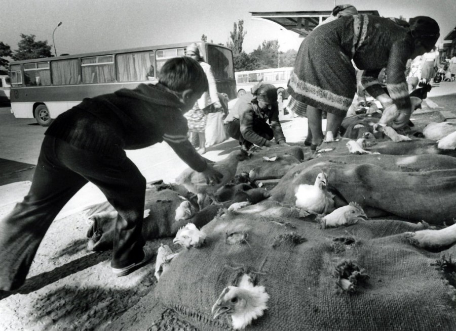 Сельский базар 1980