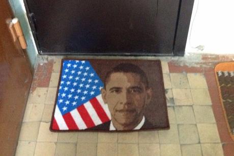 Обама коврик