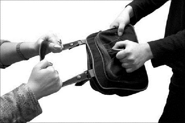 Портфель кража