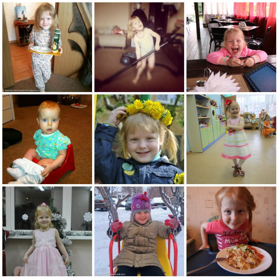 collage Полина
