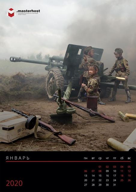 Дети в военной форме 01