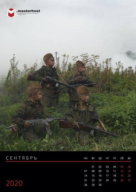 Дети в военной форме 09