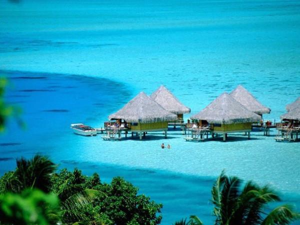 Бора-Бора, Французская Полинезия.