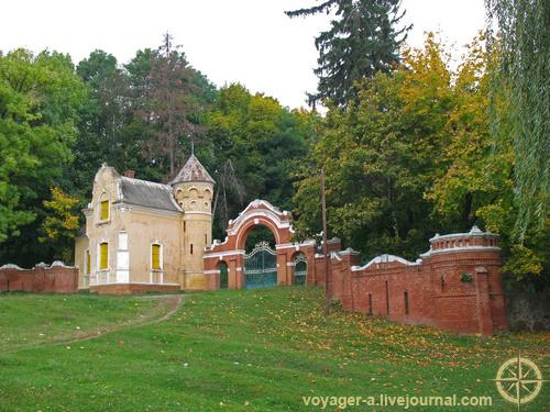 Дворец Собанских в селе Верховка
