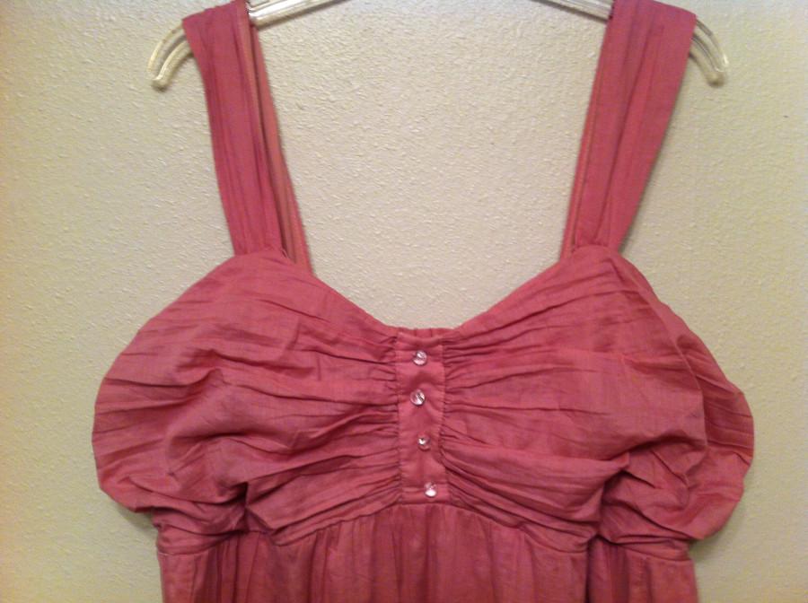 top of rose dress