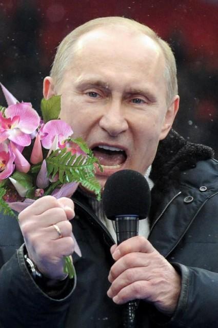 Владимир Путин рассказал о российских женщинах стихами