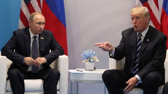 Ложь: президент РФ и американский лидер повздорили на встрече