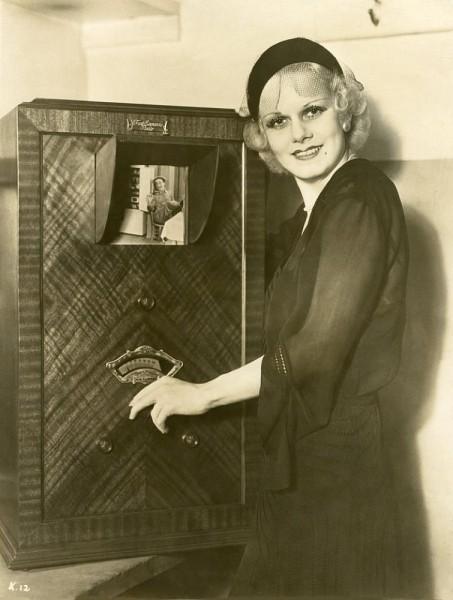 jean harlow feb 1932 television large