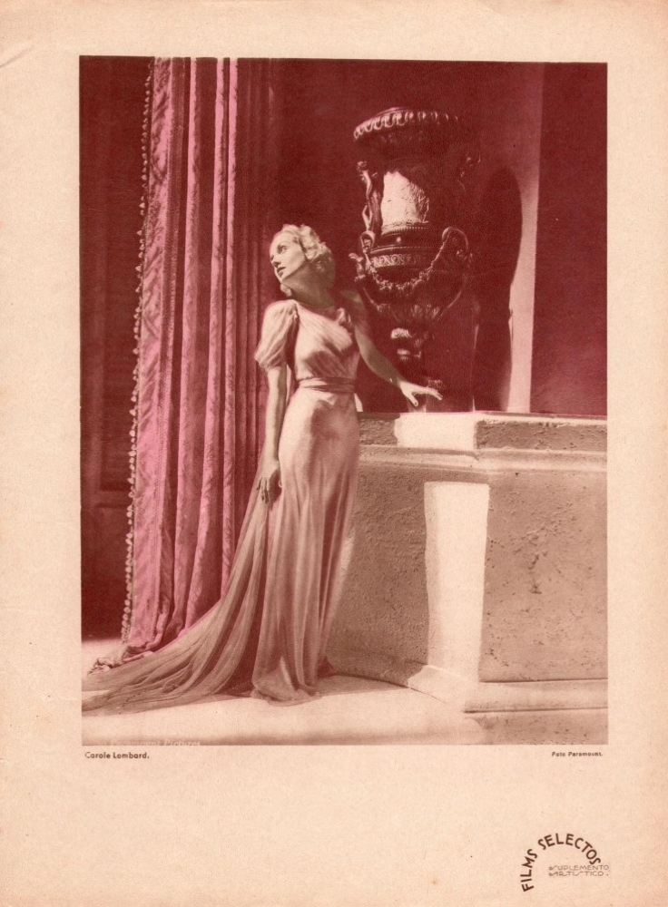 carole lombard films selectos spain 1930s large