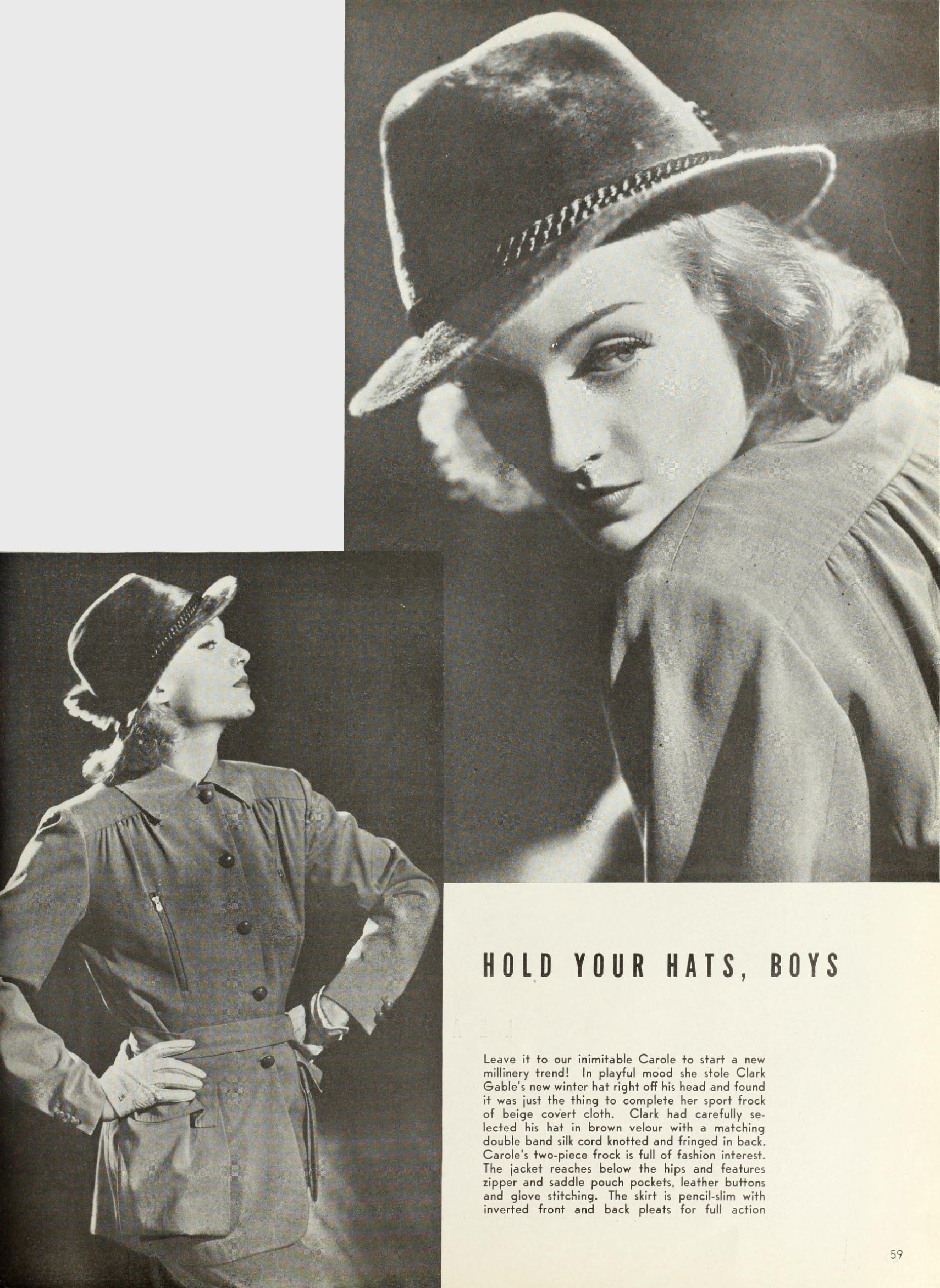 carole lombard photoplay dec 1937aa fashion
