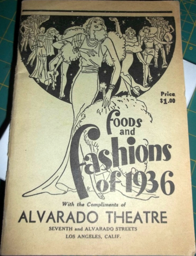 carole lombard foods and fashions of 1936 booklet cover large