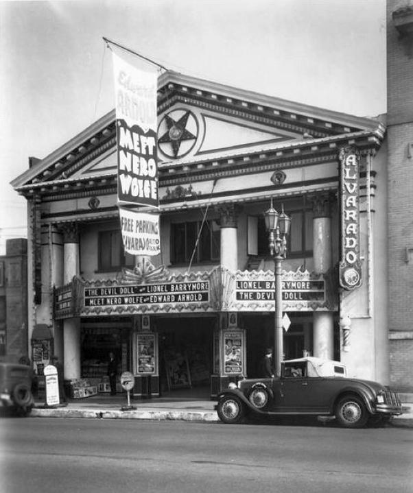 los angeles alvarado theater 1936aa