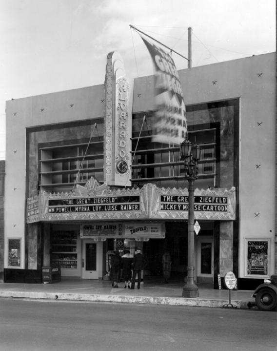 los angeles alvarado theater 1936ca