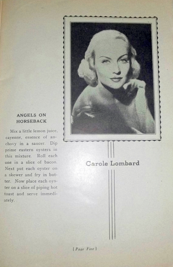 carole lombard foods and fashions of 1936 booklet 00a