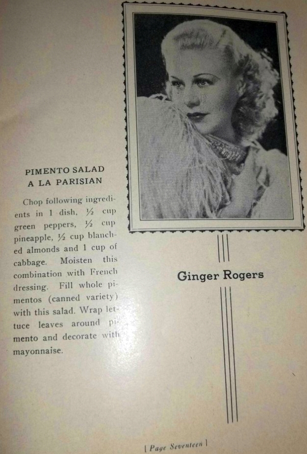carole lombard foods and fashions of 1936 booklet 02a