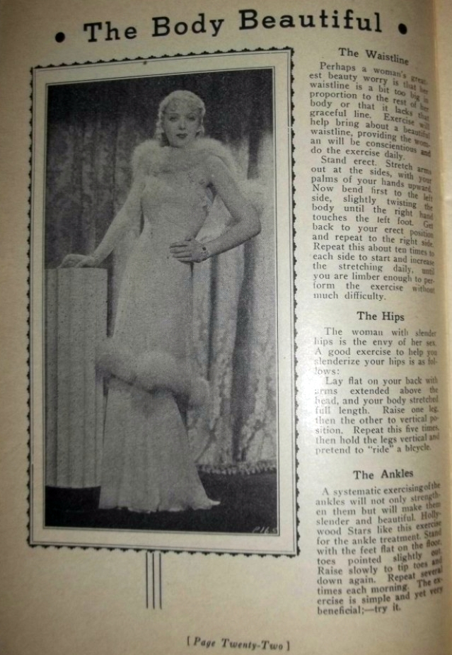 carole lombard foods and fashions of 1936 booklet 04a