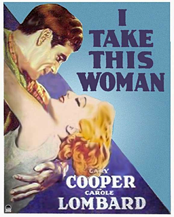 carole lombard i take this woman poster 00a