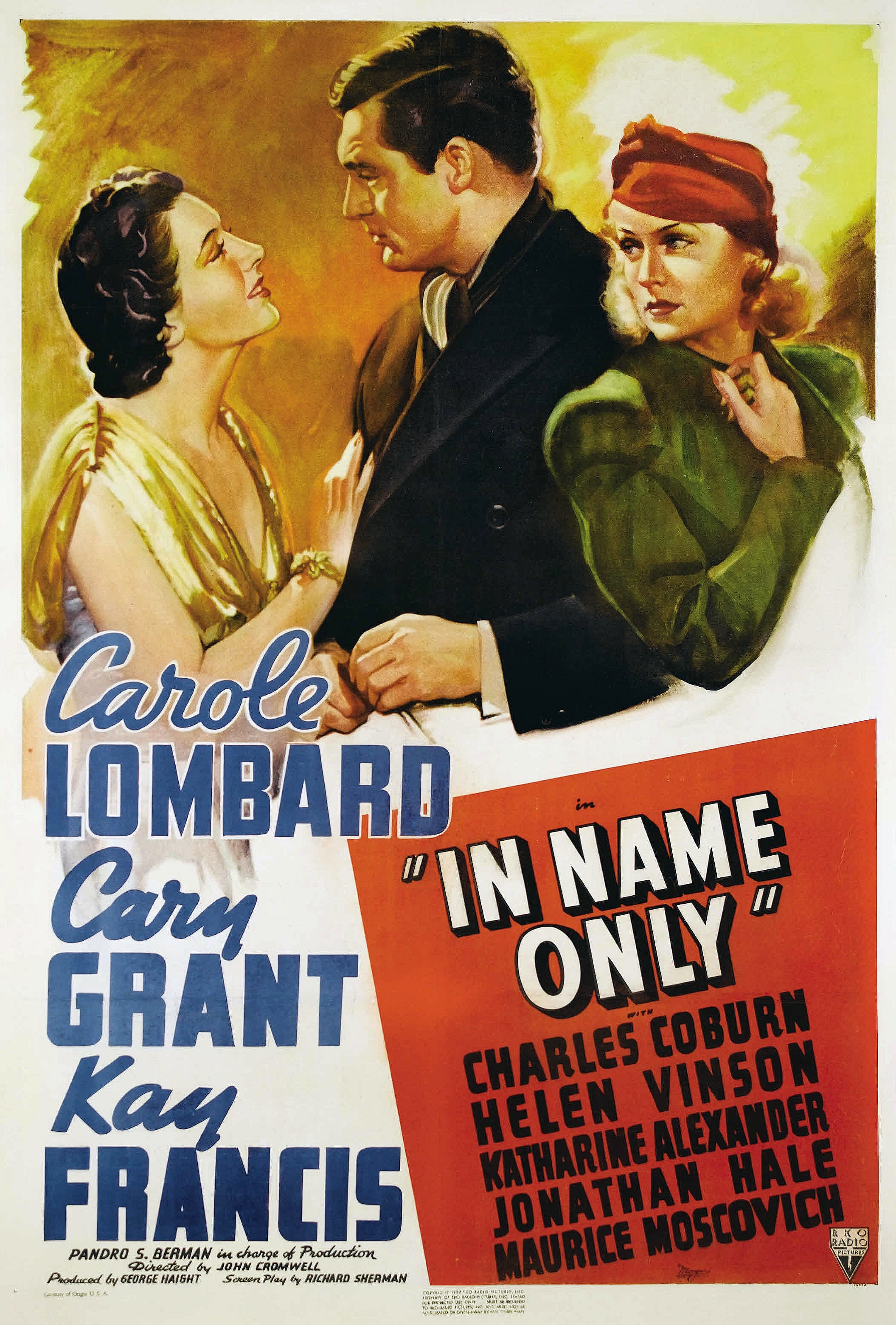 carole lombard in name only poster 01b
