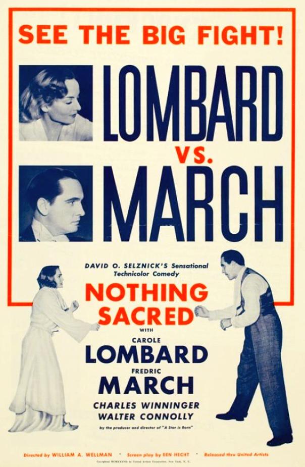 carole lombard nothing sacred poster large 00
