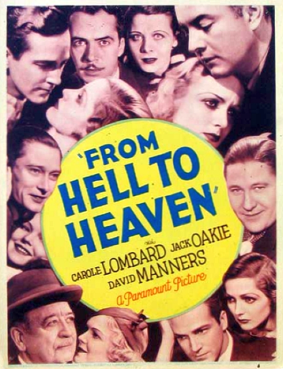 carole lombard from hell to heaven poster 01a