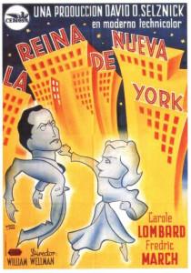 carole lombard nothing sacred spanish poster