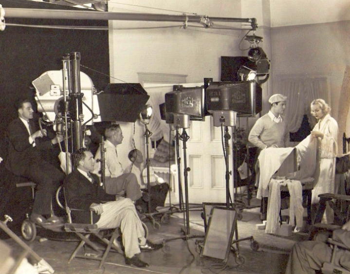 carole lombard the gay bride on set with conway 02a