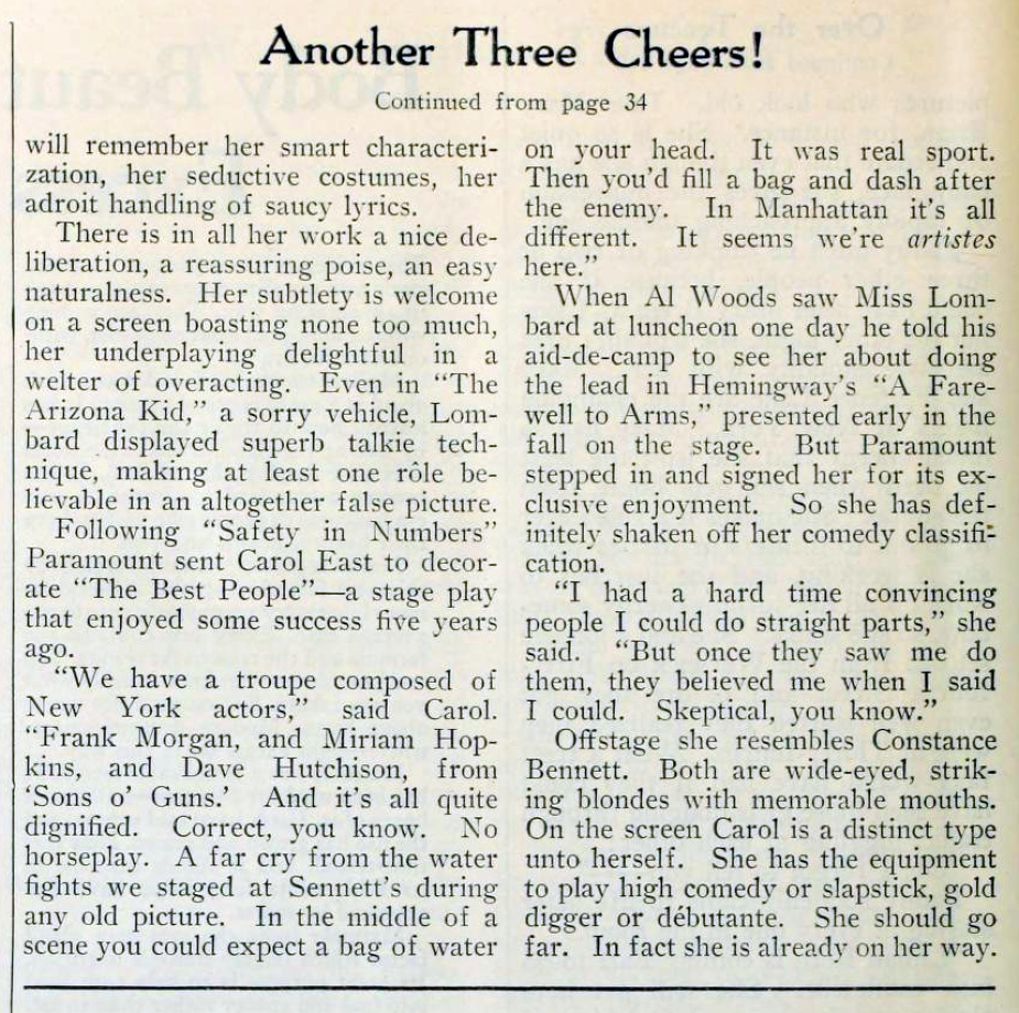 carole lombard picture play dec 1930 another three cheers 02a