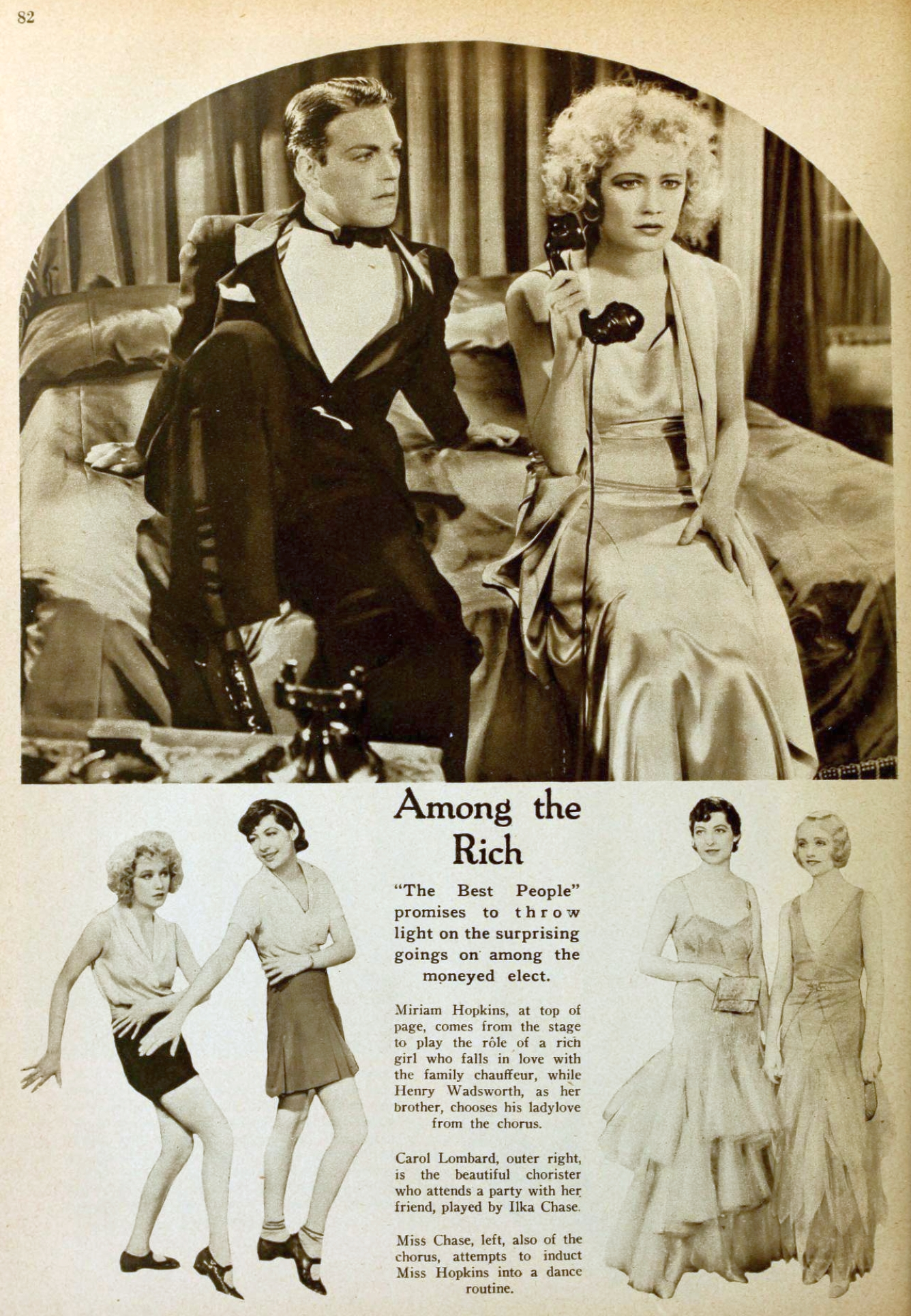 carole lombard picture play dec 1930 fast and loose 00a
