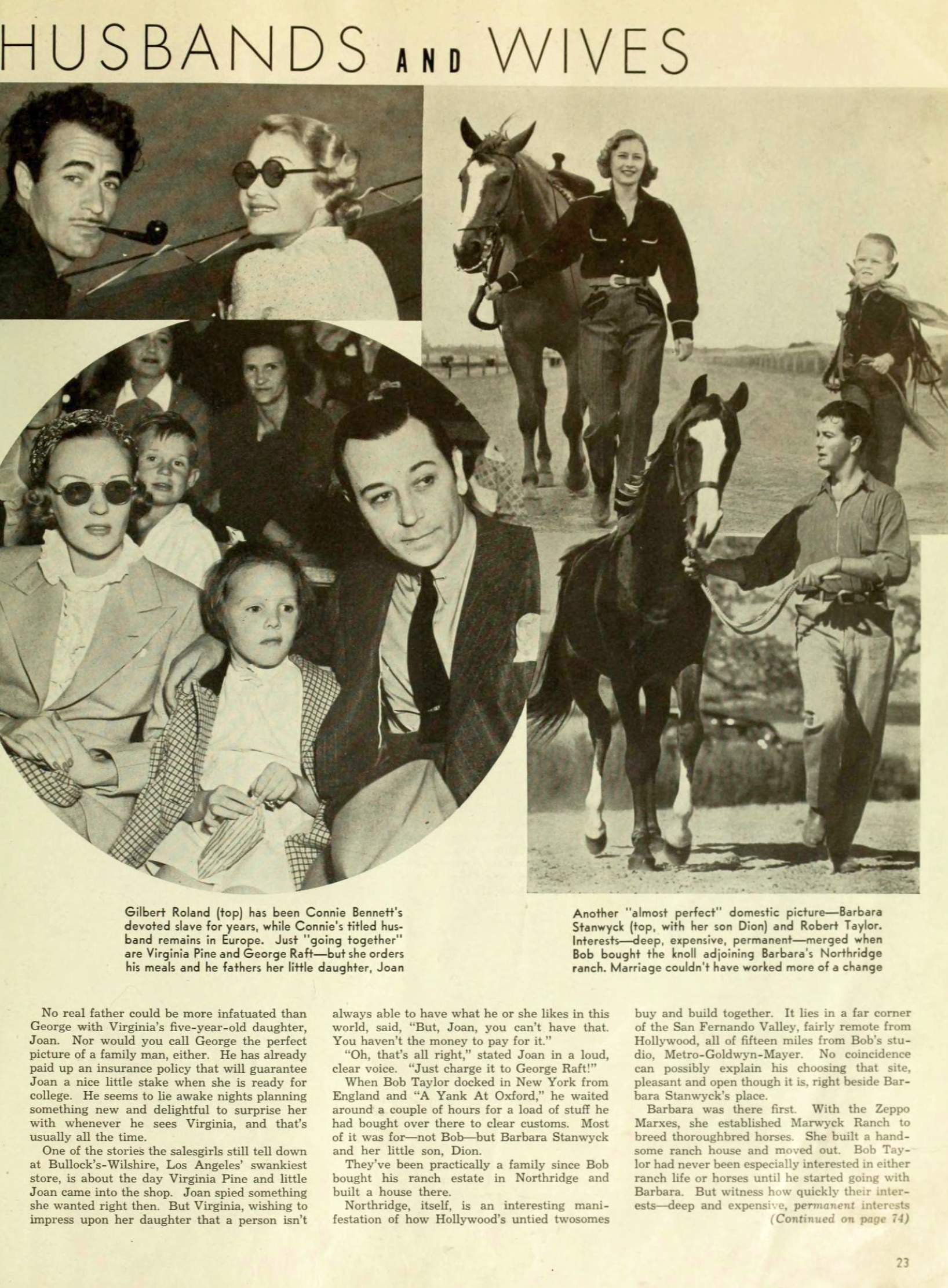 carole lombard photoplay jan 1939 hollywood's unmarried husbands and wives 01a