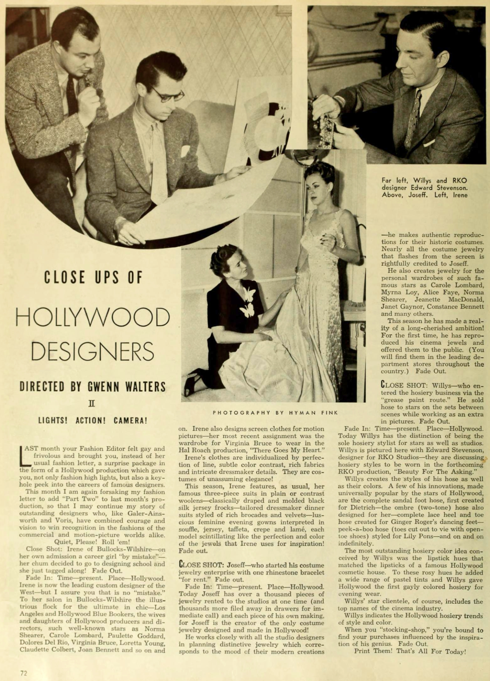 carole lombard photoplay jan 1939 closeups of hollywood designers large